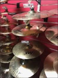 Guitar Center Musical Cymbal Slatwall Display Hook 2