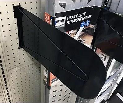 Trailor Ramp Reinforced Metal Dividers