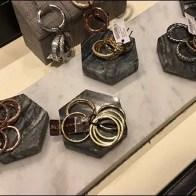Henri Bendel Fashion Jewelry Hexagon Plinths