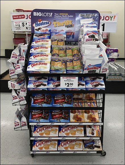 Hostess Thrift Rack Is Back At Big Lots
