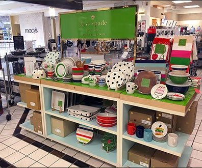 Kate Spade Tableware Display In Good Taste