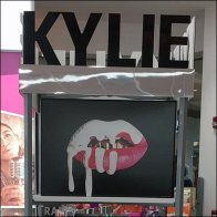 Kylie Cosmetics Sibling Lipstick Displays