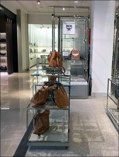 MCM Bag Branded Display Merchandising