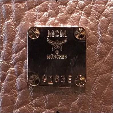 MCM Bag Branded Display Merchandising Clasp