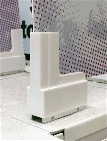 Magnetic Median Foamcore Sign Holders