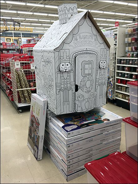 Santa's Workshop Corrugated Construction Playhouse 3
