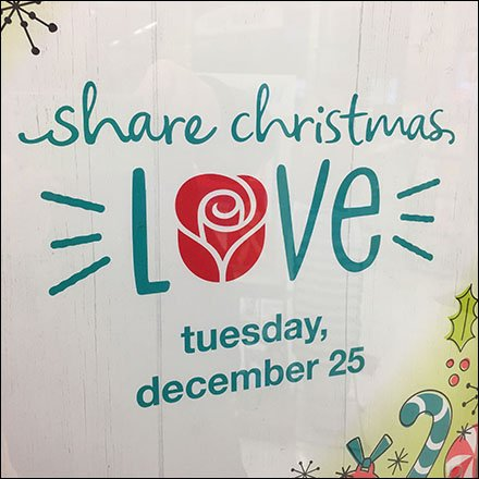 Share Christmas Love Greeting Card Reminder