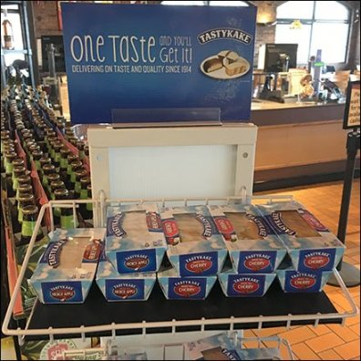 Tastykake One Taste Spinner Rack Square