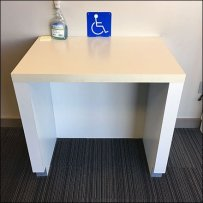 Dedicated Handicapped Workspace In-Store