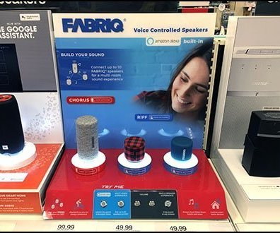 Controlled Fabriq Speakers Try-Me