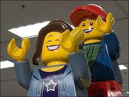 Giant Lego Sliding Board Branding