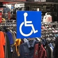 Handicapped Mirror Store Amenity Feature