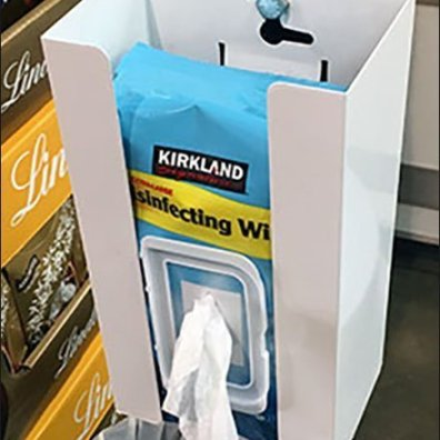 Kirkland Sanitary Wipes and Waste Disposal