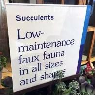 Low Maintenance Faux Fauna Succulents Tower Aux