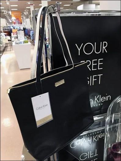 Calvin Klein Free Bell Jar Display