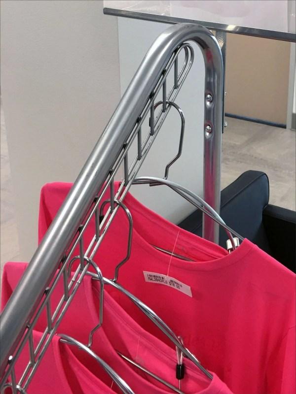 Mercedes Benz Pink T-Shirt Waterfall Rack