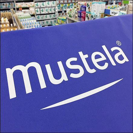 Mustela Awning Branded Endcap Display Feature1