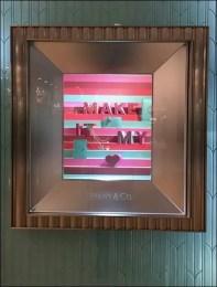 Tiffany Heart Niche Window Dressing