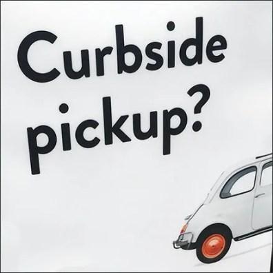 Nordstrom Curbside Pickup Sidewalk Sign Square1