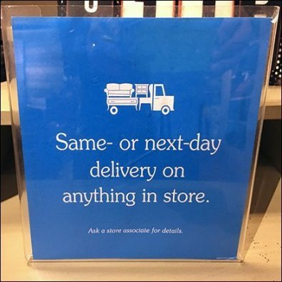 Same- or Next-Day Delivery On Anything