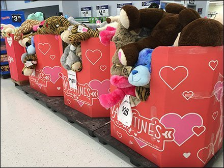 Saint Valentine's Day Plush Pallet-Load Promo