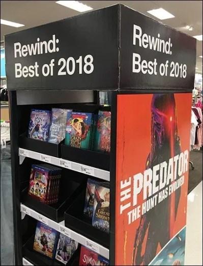 Best Movies of 2018 DVD Rewind Tower