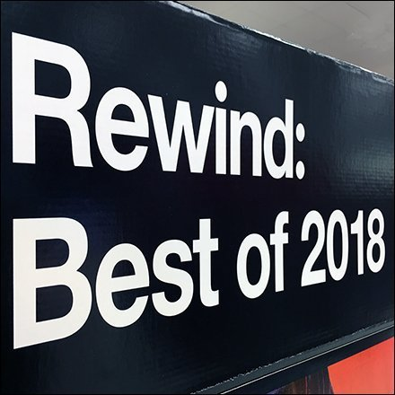 Rewind Best Movies of 2018 DVD Tower Feature