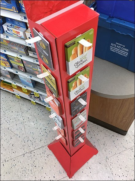 Valentine's Day Dining Out Gift Card Tower
