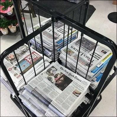 4-Way Newspaper Rack Square1
