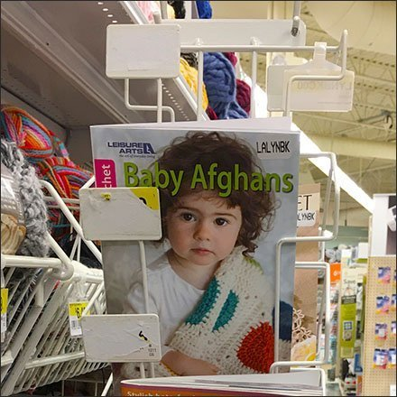JoAnns Angled Aisle Invader Literature Holder
