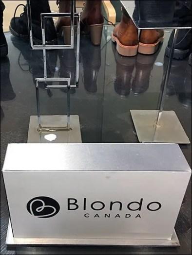 Blondo Canada Celtic Knotwork Pedestal