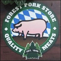 Forest Park Quality Meats Branding Plaque