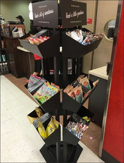 Curated Candy Collection Triangle Tower