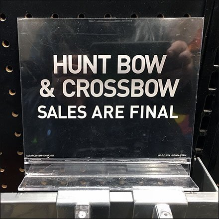 Crossbow and Bow Sales Are Final Warning