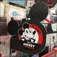 Disney Mickey Mouse Anniversary Greeeting Card Promo Flag Feature