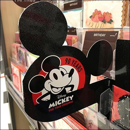 Mickey Mouse Greeting Card Promo Flag
