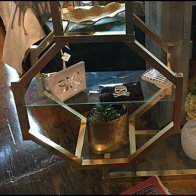 Octagon Display Table Element Fusion
