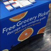 Curbside Pickup Table Drape Promotion