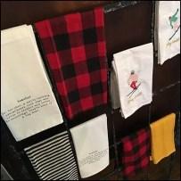 Hand Towel Rack or Scarf Merchandiser