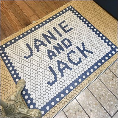 Janie and Jack Branded Tile Store Entry