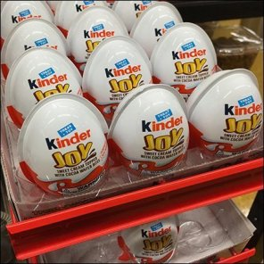 Kinder Joy Permanent Point-of-Purchase Tower