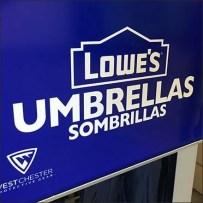 Lowes Half-Height Mobile Umbrella Rack