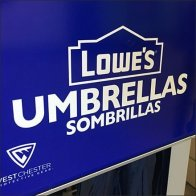 Lowes Half-Height Mobile Umbrella Rack