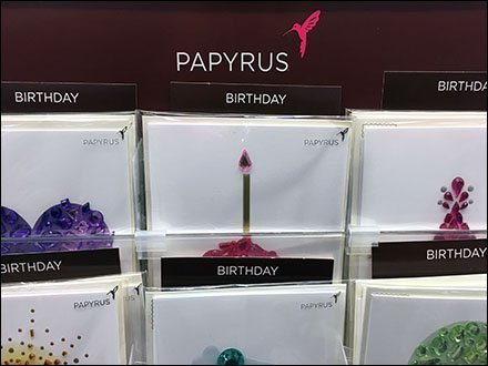 Papyrus Mini Inline Greeting Card Display