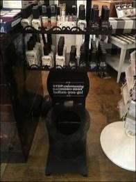 Poo-Pourri Spray Mahogany Toilet Display