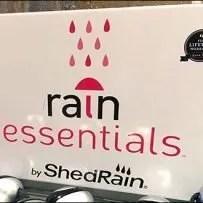 Rain Essentials Rack Umbrella Identification Icons
