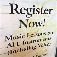Register Now Mall Concourse Music Lessons