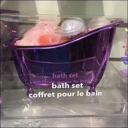 Claire's Bath Set Bathtub Assortment Pack