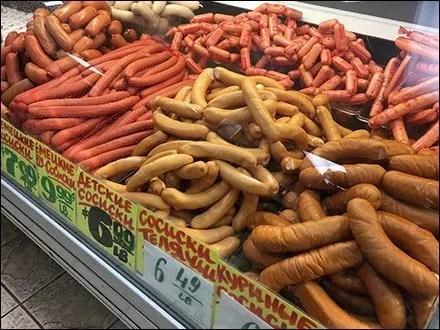 Ethnic Polish Delicatessen Sausage Fest