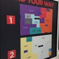Find Your Way Color-Coded Store Map